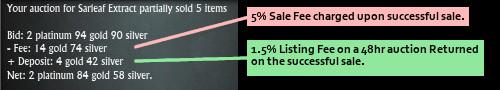 RIFT Auction House Fees Explained
