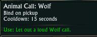 Animal Call Wolf