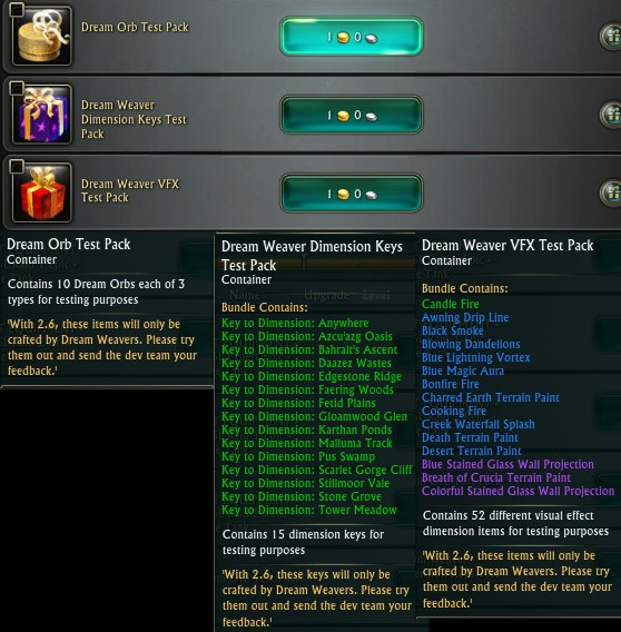 PTS News: Dreamweaving Test Packs Available At Dummy