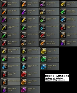 Rift Bounty System Potion of Slaying