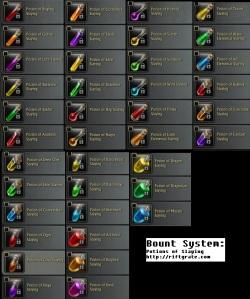 Rift Bounty System Potion of Slaying