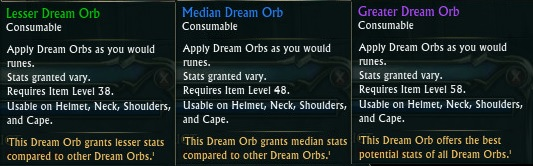 Rift Dream Orbs