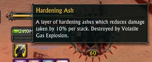 Hardening Ash