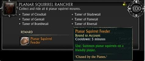 Planar Squirrel Feeder