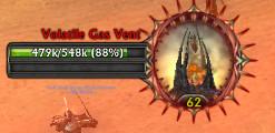 volatile gas vent