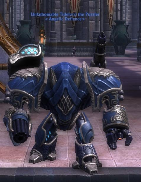 blue and gold empyreal walker mount