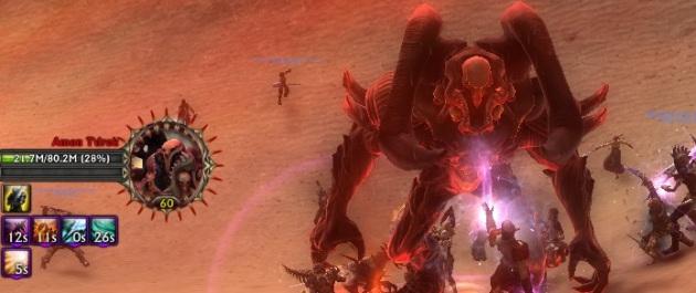 Killing Amon T'Drok