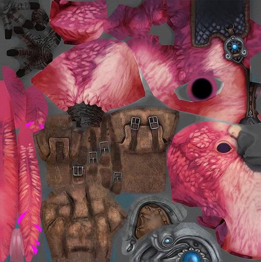 pinkbudgiemount