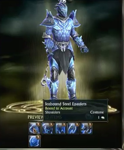 Rift Preview Items Window
