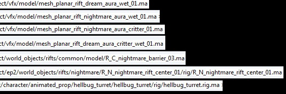 3.0 Datamine Interesting Data File Names 2