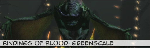 Bindings of Blood Greenscale Banner
