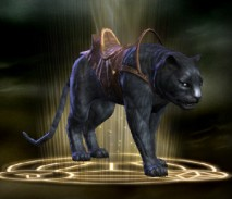 RIFT Black Riding Tiger Mount