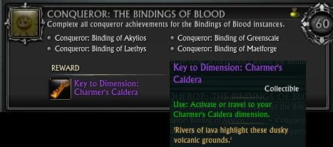 Conqueror Bindings of Blood