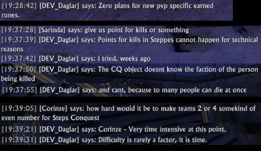 Daglar on PvP