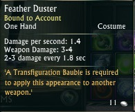 Feather Duster Weapon