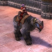 RIFT Forest Yarnosaur Leash (Escalating) Mount