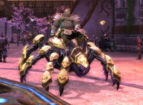 RIFT Golden Armored Spindrel Mount