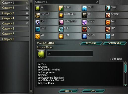 Macro UI Improvements