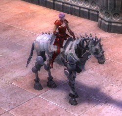 RIFT Nimble Silver Eldritch Steed Bridle (Escalating) Mount