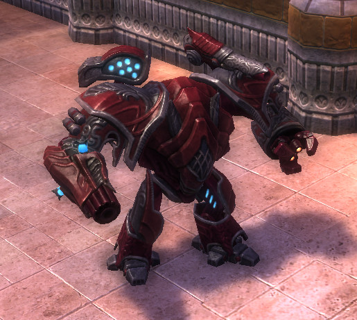 RIFT Red and Iron Empyreal Walker Mount