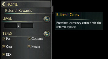 Referall Rewards Category
