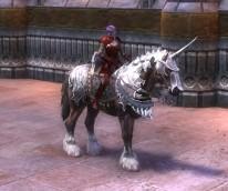 RIFT Swift Platinum Armored War Horse Bridle