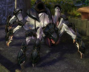 RIFT White Armored Spindrel Mount
