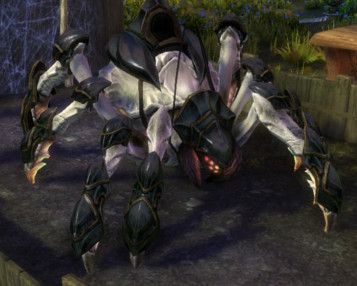 RIFT White Armored Spindrel Mount