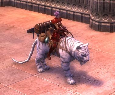 RIFT White War Tiger Mount