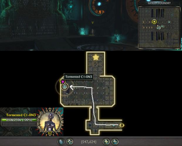 Golem Foundry Sinister Presence Location