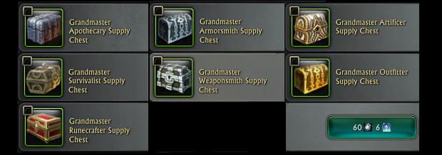 RIFT Craft Supply Crates