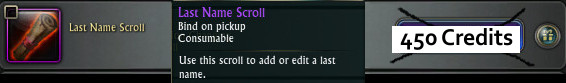 RIFT Last Name Scroll 2