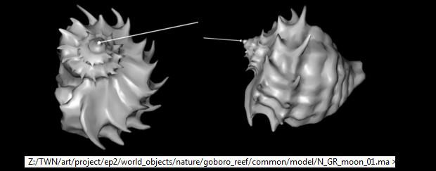 RIFT 3.0 Nightmare Tide Goboro Reef Moon Model