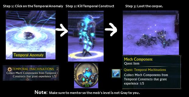 Temporal Flux Machinations Quest