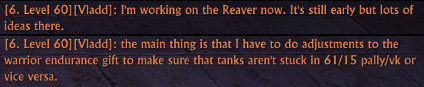 Vladd on Reaver DPS 13th June 2014