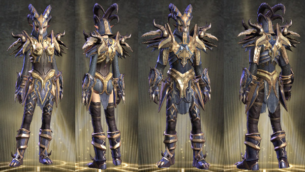 Wardrobe Infernal Warrior