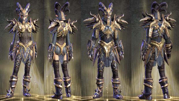 Wardrobe Infernal Warrior