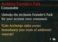 Archeum Founder's Pack RIFT