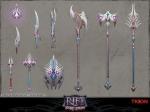 RIFT Crucia Weapons Concept Art
