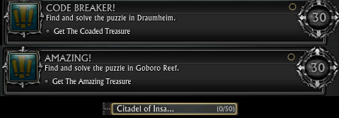 Draumheim and Goboro Reef Achieve