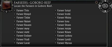 Farseers - Goboro Reef