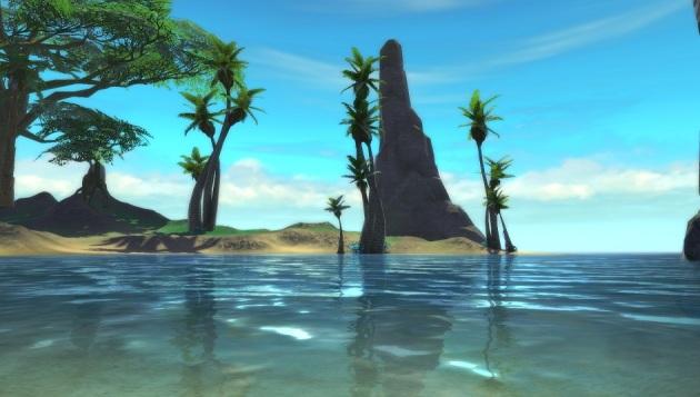 Fort Zarnost Beach Dimension 1