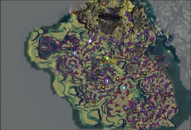 Goboro Reef Luminous Passage Map