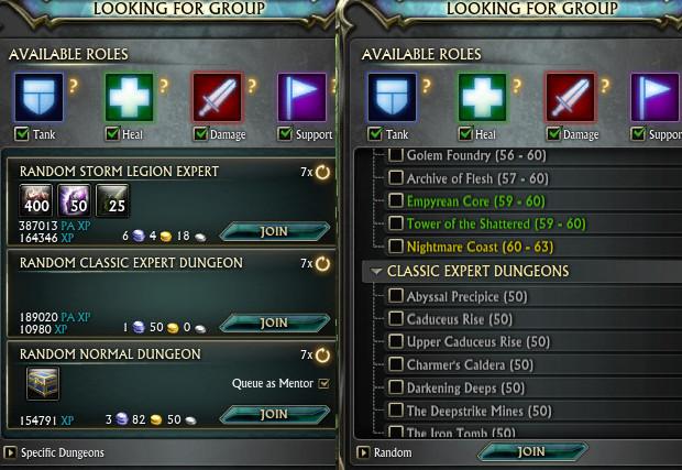 LFG Nightmare Coast Dungeon