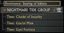 New 3.0 Nightmare Tide Leaderboards