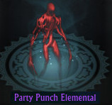 Party Punch Elemental Companion Pet