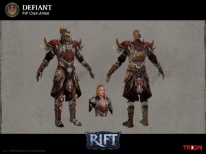 RIFT PVP Defiant Cleric Armor Concept Art