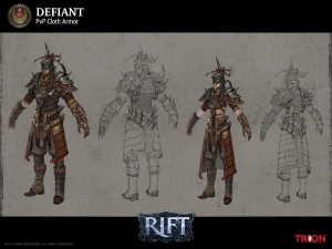 RIFT PVP Defiant Mage Armor Concept Art