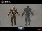 RIFT PVP Defiant Rogue Armor Concept Art