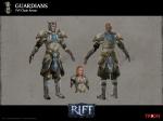 RIFT PVP Guardian Cleric Armor Concept Art